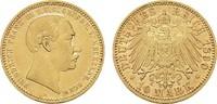 10 Mark 1890, A. Mecklenburg-Schwerin Friedrich Franz III., 1883-1897. ... 1650,00 EUR