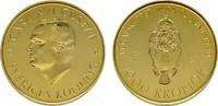 1000 Kronen 1988. SCHWEDEN Karl XVI. Gustav seit 1973. Polierte Platte.  440,00 EUR