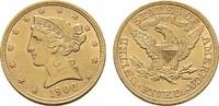 5 Dollar 1900, Philadelphia. USA  Vorzüglich - Stempelglanz  490,00 EUR  +  7,00 EUR shipping