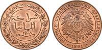 1 Pesa 1891. DEUTSCHE KOLONIEN  Feine originale Kupferfarbe. Stempelgla... 95.02 US$  +  7.83 US$ shipping