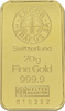 20 Gramm Feingoldbarren, diverse Hersteller. - TAGESGOLD  Bankfrisch.  829,83 EUR kostenloser Versand