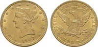 10 Dollar 1907, Philadelphia. USA  Fast Stempelglanz  790,00 EUR free shipping