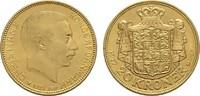 20 Kronen - Jahr nach unserer Wahl.  DÄNEMARK Christian X., 1912-1947. ... 318,02 EUR