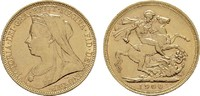 Sovereign - Jahr nach unserer Wahl.  GROSSBRITANNIEN Victoria, 1837-190... 298,16 EUR