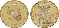 10 Gulden - Jahr nach unserer Wahl.  NIEDERLANDE Wilhelm III., 1849-189... 229,89 EUR