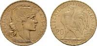20 Francs - Jahr nach unserer Wahl. Marianne . FRANKREICH 3. Republik, ... 230,54 EUR  +  7,00 EUR shipping