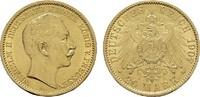20 Mark - Jahr nach unserer Wahl.  Preussen Wilhelm II., 1888-1918. Seh... 280,85 EUR
