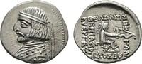 AR-Drachme, Rhagai. PARTHIA Arsakes XVI., 78-61 v. Chr. Prägefrisch  380,00 EUR  +  7,00 EUR shipping