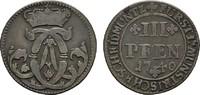 3 Pfennig 1740. MÜNSTER Clemens August von Bayern, 1719-1761. Sehr schö... 20,00 EUR  +  7,00 EUR shipping