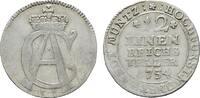 1/12 Taler 1754 IK. MÜNSTER Clemens August von Bayern, 1719-1761. Fast ... 35,00 EUR  +  7,00 EUR shipping