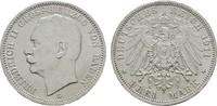 3 Mark 1911 G. Baden Friedrich II., 1907-1918. Fast Stempelglanz  45,00 EUR  zzgl. 4,50 EUR Versand