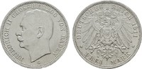 3 Mark 1911 G. Baden Friedrich II., 1907-1918. Fast Stempelglanz  50.30 US$  +  7.83 US$ shipping