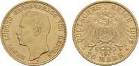 20 Mark 1906 A Hessen Ernst Ludwig, 1892-1918. Sehr schön -Vorzüglich  603.65 US$  +  11.18 US$ shipping