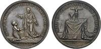 Silbermedaille o.J. (v. Friedrich Loos). MISCELLANEA  Feine Patina, Ste... 90,00 EUR