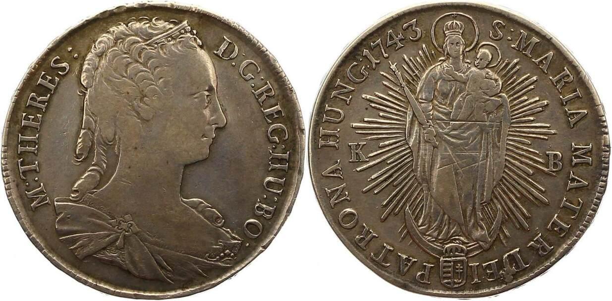 Maria Theresia 1740-1780 Haus Habsburg Taler 1743