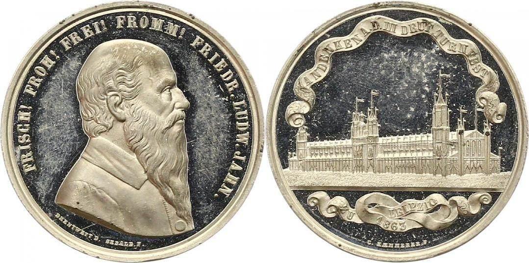 Jahn, Friedrich Ludwig 1778 Lanz, +1852 Freyburg / Unstrut, Begründer