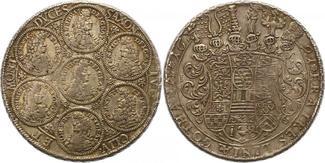 Taler 1691 Sachsen-Gotha-Altenburg Friedri...