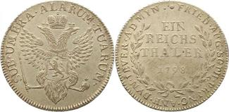Taler 1798 Jever-Grafschaft Friederike Aug...