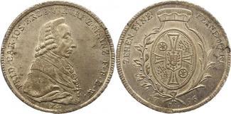 Taler 1796 Mainz-Erzbistum Friedrich Karl ...