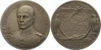 Zinkmedaille 1916 Erster Weltkrieg Bölcke,...