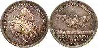Brandenburg-Preußen Silbermedaille Friedrich Wilhelm II. 1786-1797.