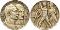 Brandenburg-Preußen Silbermedaille Wilhelm II. 1888-1918.