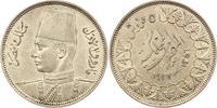 Ägypten 5 Piaster Farouk 1936-1952.