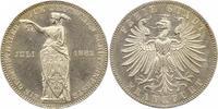 Frankfurt-Stadt Taler 1862 Prachtexemplar. Fast Stempelglanz  225,00 EUR  zzgl. 4,00 EUR Versand