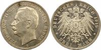 3 Mark 1915  G Baden Friedrich II. 1907-1918. Vorzüglich - Stempelglanz  125,00 EUR