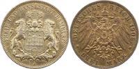 3 Mark 1908  J Hamburg  Sehr schön - vorzüglich  24,00 EUR