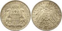 3 Mark 1909  J Hamburg  Sehr schön - vorzüglich  21,00 EUR