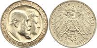 3 Mark 1911 Württemberg Wilhelm II. 1891-1918. Winz. Randfehler, vorzüg... 30,00 EUR