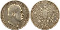 Taler 1870  A Brandenburg-Preußen Wilhelm I. 1861-1888. Fast sehr schön  38,00 EUR
