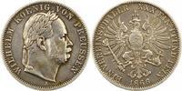 Siegestaler 1866  A Brandenburg-Preußen Wilhelm I. 1861-1888. Kratzer, ... 42,00 EUR