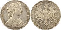 Taler 1860 Frankfurt-Stadt  Rand komplett bearbeitet, sehr schön  35,00 EUR