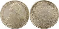 Taler 1765 Haus Habsburg Maria Theresia 1740-1780. Winz. Kratzer, fast ... 185,00 EUR