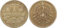 Mark 1878  J Kleinmünzen  Schön - sehr schön  6,00 EUR