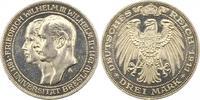 3 Mark 1911  A Preußen Wilhelm II. 1888-1918. Erstabschlag. Vorzüglich ... 75,00 EUR