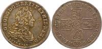 1/6 Taler Feinsilber 1718  B Braunschweig-Calenberg-Hannover Georg I. 1... 162.58 US$ 145,00 EUR