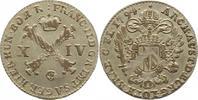 Haus Habsburg 14 Liard 1794 Justiert, fast vorzüglich Franz II.(I.) 1792... 115,00 EUR  zzgl. 4,00 EUR Versand