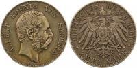 2 Mark 1900  E Sachsen Albert 1873-1902. Sehr schön  84.10 US$ 75,00 EUR