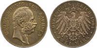 2 Mark 1904 Sachsen Georg 1902-1904. Randfehler, vorzüglich  60,00 EUR