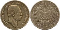 2 Mark 1907  E Sachsen Friedrich August III. 1904-1918. Berieben, sehr ... 56.06 US$ 50,00 EUR