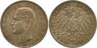 3 Mark 1908  D Bayern Otto 1886-1913. Schöne Patina. Vorzüglich +  32,00 EUR