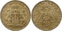 3 Mark 1913  J Hamburg  Zapponiert, vorzüglich - Stempelglanz  35,00 EUR