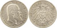 5 Mark 1903  F Württemberg Wilhelm II. 1891-1918. Zapponiert, sehr schö... 30,00 EUR