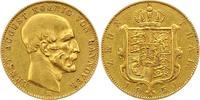 Zehn Taler Gold Gold 1850  B Braunschweig-Calenberg-Hannover Ernst Augu... 1975,00 EUR