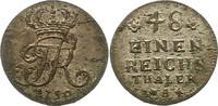 1/48 Taler 1750  A Brandenburg-Preußen Friedrich II. 1740-1786. Vorzügl... 55,00 EUR