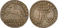 4 Mariengroschen Feinsilber 1735 Braunschweig-Wolfenbüttel Ferdinand Al... 165,00 EUR