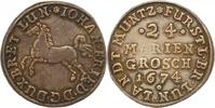 24 Mariengroschen Landmünze 1 1674 Braunschweig-Calenberg-Hannover Joha... 106.52 US$ 95,00 EUR